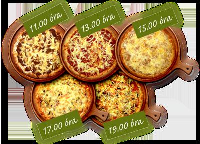 Ingyen pizza sorsolás Nyíregyháza